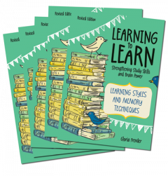 Learning to Learn, Learning Styles and Memory Techniques (Set of 5)