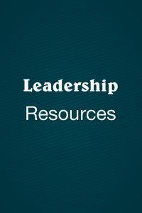 Leadership Resources
