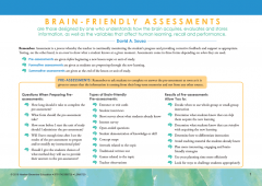 Brain-Friendly Assessments Quick Reference Guide