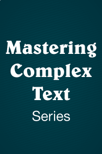 Mastering Complex Text Using Multiple Reading Sources