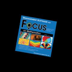 Focus on Maths: Maths Management Software CD-Rom v1.0