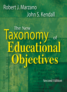 The New Taxonomy of Educational Objectives, Second Edition