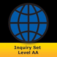 Sight Word Readers: Inquiry Set Level AA (Set of 16 - IWB Sets)