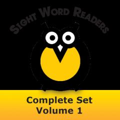 Sight Word Readers Complete Set Volume 1 Set of 12