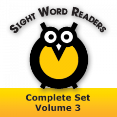 Sight Word Readers Complete Set Volume 3 Set of 12