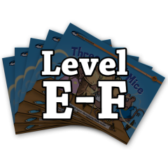 Rising Readers Levels E-F Books Only Bundle