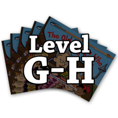 Rising Readers Levels G-H Books Only Bundle