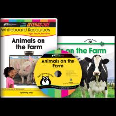 Sight Word Readers: Animals on the Farm (IWB Set)