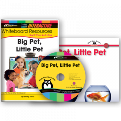 Sight Word Readers: Big Pet, Little Pet (IWB Set)