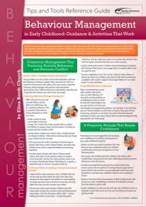 Behaviour Management in Early Childhood: Guidance & Activities That Work