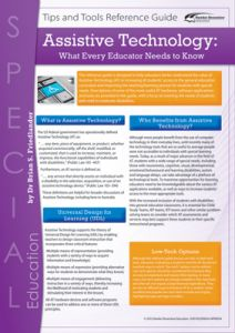 Assistive Technology: What Every Educator Needs to Know