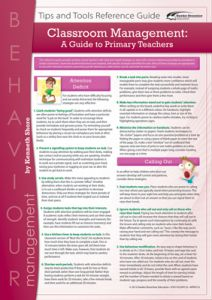 Classroom Management: A Guide for Primary Teachers