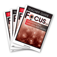 Focus: Reading Class Pack Book C: 30 Student + 6 Teacher Guides