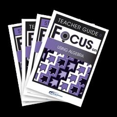 Focus on Maths: Maths Class Set D: 30 Student, 6 Teacher + Software