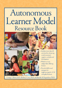 Autonomous Learner Model Resource Book