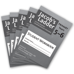Jacob's Ladder Gifted Reading Comprehension Program: Student Workbook Years 5-6 (Set of 5)