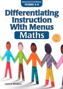 Differentiating Instruction With Menus: Maths, Years 3-6, Second Edition
