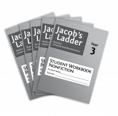 Jacob's Ladder Student Workbook: Year 3, Nonfiction, 2nd Edition (Set of 5)