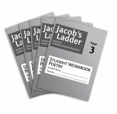 Jacob's Ladder Student Workbook: Year 3, Poetry, 2nd Edition (Set of 5)