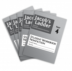 Jacob's Ladder Student Workbook: Year 4, Nonfiction, 2nd Edition (Set of 5)