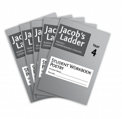 Jacob's Ladder Student Workbook: Year 4, Poetry, 2nd Edition (Set of 5)