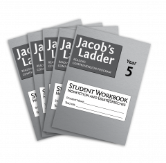 Jacob's Ladder Student Workbook: Year 5, Nonfiction and Essays/Speeches, 2nd Edition (Set of 5)