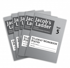 Jacob's Ladder Student Workbook: Year 5, Poetry, 2nd Edition (Set of 5)