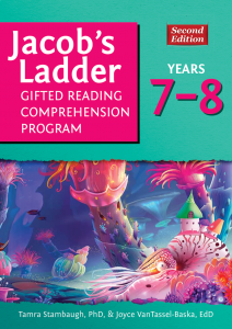 Jacob's Ladder Gifted Reading Comprehension Program, Years 7-8 (2nd Ed.)