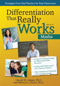 Differentiation That Really Works: Maths