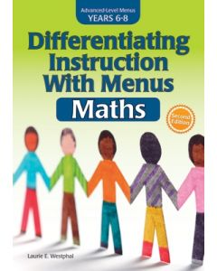 Differentiating Instruction With Menus: Math (Years 6-8), 2nd Edition