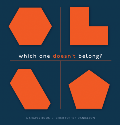 Which One Doesn't Belong: A Shapes Book (Student Book)