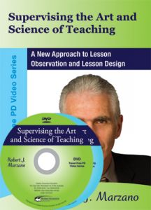 Supervising the Art and Science of Teaching: A New Approach to Lesson Observation and Lesson Design DVD