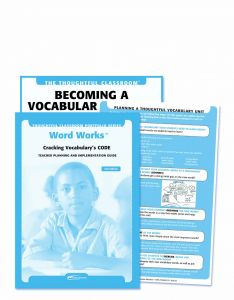The Thoughtful Classroom Portfolio Series: Word Works: Cracking Vocabulary's CODE