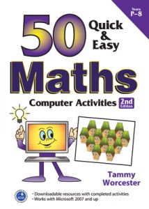 50 Quick & Easy: Maths Computer Activities, 2nd Edition