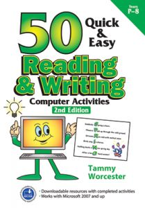 50 Quick & Easy: Reading & Writing Computer Activities, 2nd Edition