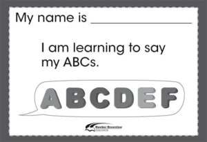 CA11370 I am learning to say my ABCs